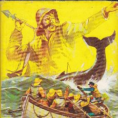 Libros antiguos: LIBRO JUVENIL COLECCION JUVENIL CAZADORES DE BALLENAS. Lote 29237479
