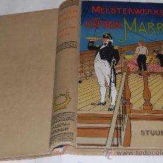"""Libros antiguos: STUURMAN FLINK OF DE SCHIPBREUK VAN """"DE VREDE"""". MEESTERWERKEN VAN KAPITEIN MARRYAT RM30609. Lote 29264225"""