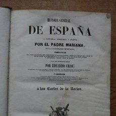 Libros antiguos: HISTORIA GENERAL DE ESPAÑA. LA COMPUESTA, ENMENDADA Y AÑADIDA POR… MARIANA (PADRE). Lote 29306863