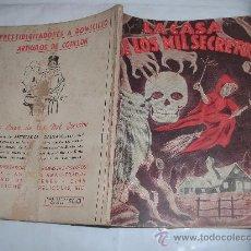 Libros antiguos: LA CASA DE LOS MIL SECRETOS. Lote 29313666
