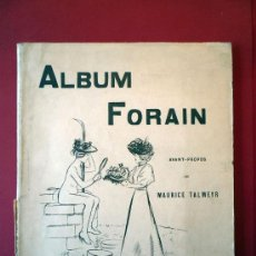 Libros antiguos: ALBUM FORAIN, PARIS 1896. Lote 29323232