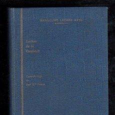 Libros antiguos: LUCHAS DE CASTIDAD, R.P. MARCELINO LÁZARO BAYO, CÁDIZ, IMPRENTA DE M.ÁLVAREZ, 1930. Lote 29346268