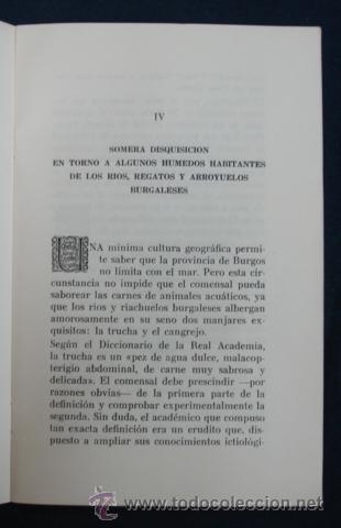 Libros antiguos: OPUSCULO DE AMENAS Y SUSTANCIOSAS REFLEXIONES SOBRE EL ARTE DE BIEN MANDUCAR. REST. CASA OJEDA. - Foto 4 - 29384803