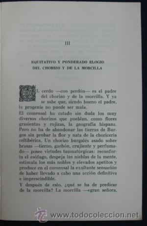 Libros antiguos: OPUSCULO DE AMENAS Y SUSTANCIOSAS REFLEXIONES SOBRE EL ARTE DE BIEN MANDUCAR. REST. CASA OJEDA. - Foto 3 - 29384803