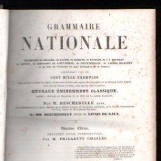 Old books - GRAMMAIRE NATIONALE POR PHILARETE CHASLES - PARIS, CHEZ GARNIER FRERES. 1864 - 29380771