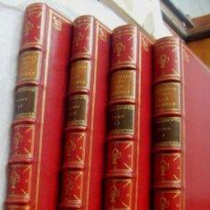Libros antiguos: QUIJOTE IMPRENTA IBARRA. EL INGENIOSO DON QUIXOTE MADRID 1780 REAL ACADEMIA 4 TOMOS CANTOS DORADOS.. Lote 29502957
