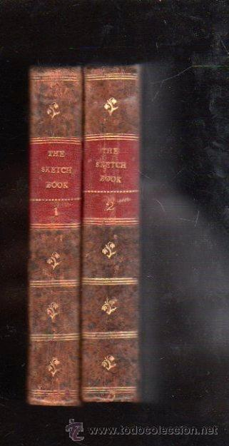 Libros antiguos: THE SKETCH BOOK POR GEOFFREY CRAYON. 2 VOLUMENES - A. AND W. GALIGNANI, PARIS 1825 - Foto 2 - 29494596