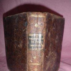 Libros antiguos: RECOPILACION DE PENAS MILITARES - AÑO 1828 - EN PLENA PIEL.. Lote 29527573