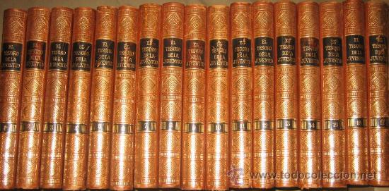 EL TESORO DE LA JUVENTUD (JACKSON) - COMPLETO, 17 TOMOS. LUJOSA ENCUADERNACIÓN. (Libros Antiguos, Raros y Curiosos - Literatura Infantil y Juvenil - Otros)