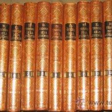 Libros antiguos: EL TESORO DE LA JUVENTUD (JACKSON) - COMPLETO, 17 TOMOS. LUJOSA ENCUADERNACIÓN.. Lote 29533590