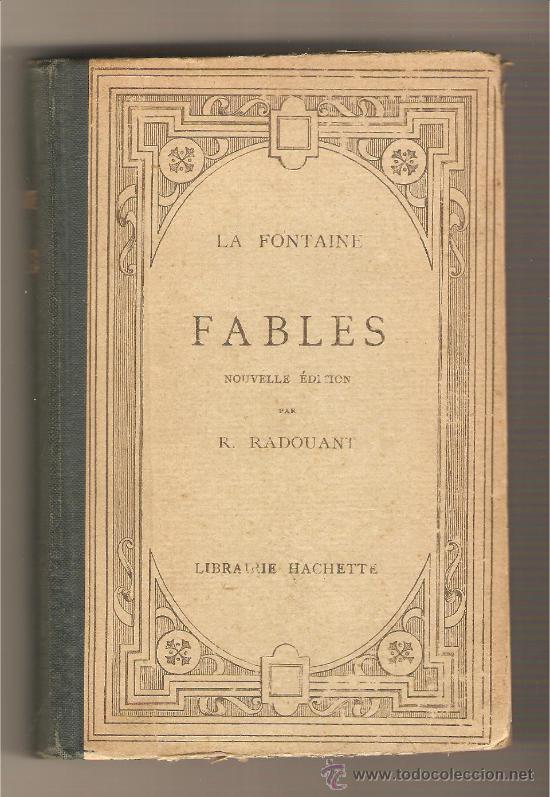 FABLES .- LA FONTAINE (Libros antiguos (hasta 1936), raros y curiosos - Literatura - Narrativa - Otros)