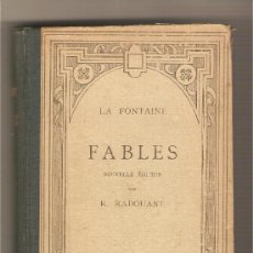 Libros antiguos: FABLES .- LA FONTAINE. Lote 29535750