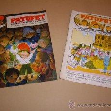 Libros antiguos: PATUFET - ANY 1 - SEGONA EPOCA - Nº 1-2. Lote 29537220
