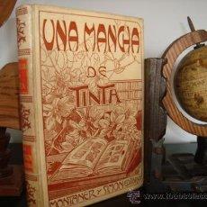 Libros antiguos: UNA MANCHA DE TINTA .BAZIN RENATO.MONTANER SIMON. Lote 29560316