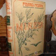 Libros antiguos: MIREYA, MONTANER SIMON. Lote 29560566