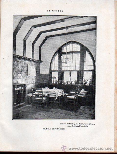 Libros antiguos: ISABEL GALLARDO DE ÁLVAREZ, LA COCINA, DOS TOMOS, SATURNINO CALLEJA, MADRID, 1922 - Foto 6 - 29571936
