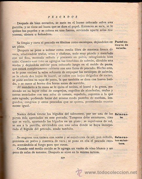 Libros antiguos: ISABEL GALLARDO DE ÁLVAREZ, LA COCINA, DOS TOMOS, SATURNINO CALLEJA, MADRID, 1922 - Foto 5 - 29571936