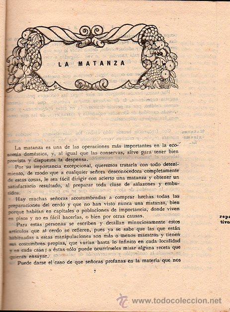 Libros antiguos: ISABEL GALLARDO DE ÁLVAREZ, LA COCINA, DOS TOMOS, SATURNINO CALLEJA, MADRID, 1922 - Foto 3 - 29571936