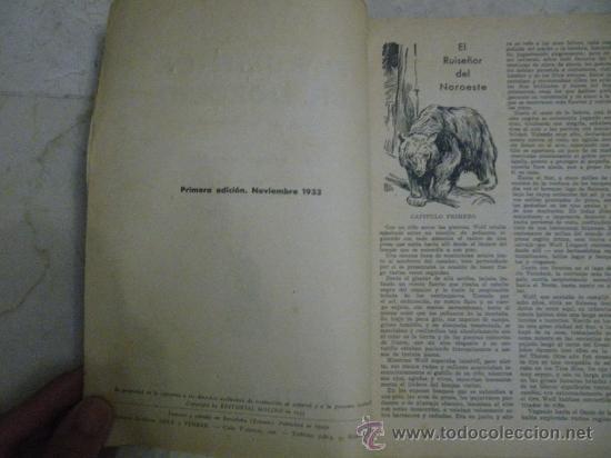 Libros antiguos: Biblioteca de Oro. Azul. Año I. Primera edición 1933 y 1934. Núm.: 1, 5, 6, 8, 9 y 10. - Foto 3 - 29591190