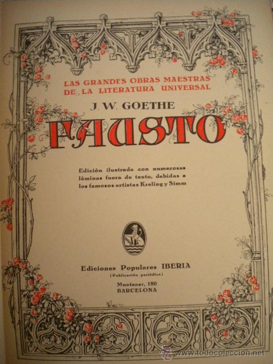 Libros antiguos: Grandes obras maestras de la literatura universal. - Foto 2 - 29598061