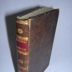 Libros antiguos: 1786 - ROCHEFOUCAULT - REFLEXIONES O SENTENCIAS Y MÁXIMAS MORALES. Lote 29599577