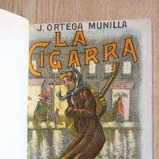 Libros antiguos: LA CIGARRA. ILUSTRACIONES DE JOSÉ PEDRAZA. ORTEGA MUNILLA (JOSÉ). Lote 29624702