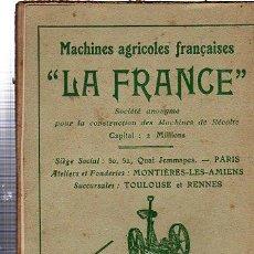 Libros antiguos: LA FENAISON PAR LES PROCEDES MODERNES PAR TONY BALLU, LIBRAIRIE AGRICOLE, PARIS, 1912. Lote 29651338