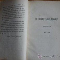 Libros antiguos: RECUERDOS DE ANDALUCÍA. LEYENDAS TRADICIONALES E HISTÓRICAS. UGARTE-BARRIENTOS (JOSEFA). Lote 29658108