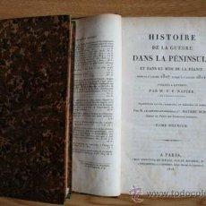 Libros antiguos: HISTOIRE DE LA GUERRE DANS LA PÉNINSULE ET DANS LE MIDI DE LA FRANCE, DEPUIS L'ANNÉE 1807 .... Lote 29658161