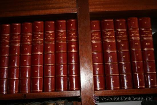 OBRAS DE... PUBLICADAS POR LA REAL ACADEMIA ESPAÑOLA. OBRAS DRAMÁTICAS. VEGA CARPIO (LOPE DE) (Libros antiguos (hasta 1936), raros y curiosos - Literatura - Narrativa - Otros)
