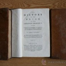 Alte Bücher - The History of the Reign of the Emperor Charles V. Robertson (William) - 29658235