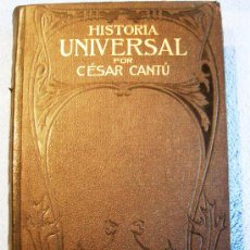 Libros antiguos: CESAR CANTU. HISTORIA UNIVERSAL - TOMO II - F. SEIX, EDITOR. 1901.. Lote 29745045
