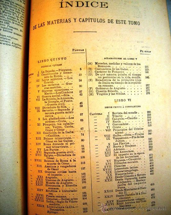 Libros antiguos: CESAR CANTU. HISTORIA UNIVERSAL - TOMO II - F. SEIX, EDITOR. 1901. - Foto 6 - 29745045