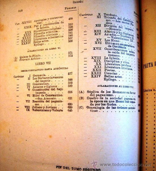 Libros antiguos: CESAR CANTU. HISTORIA UNIVERSAL - TOMO II - F. SEIX, EDITOR. 1901. - Foto 7 - 29745045