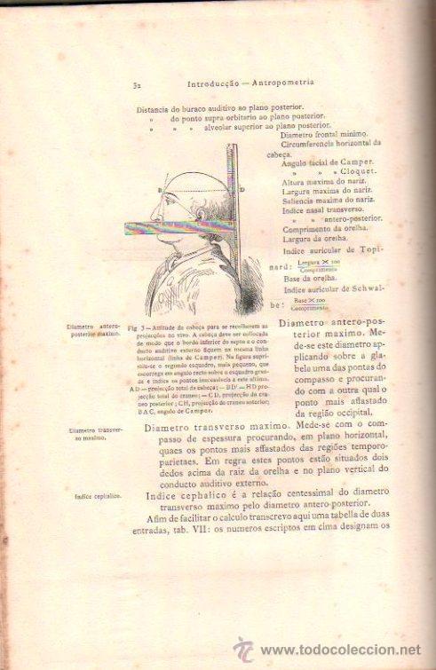 Libros antiguos: PRACTICA DE AUTOPSIAS. TECNICA Y DIAGNOSTICO VOL.1. POR AZEVEDO NEVES. ED. LIB. FERREIRA.LISBOA 1901 - Foto 4 - 15584845