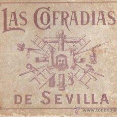 Libros antiguos: LAS COFRADÍAS DE SEVILLA, 41 LÁMINAS A TODO COLOR DE TODAS LAS COFRADÍAS DE SEVILLA, 16X23CM. Lote 29784337