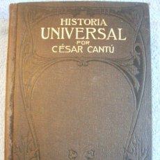 Libros antiguos: CESAR CANTU. HISTORIA UNIVERSAL - TOMO VII - F. SEIX, EDITOR. 1901.. Lote 29833398