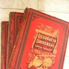 Libros antiguos: GEOGRAFIA UNIVERSAL, ASTRONOMICA, FISICA, POLITICA, DESCRIPTIVA Y ESTADISTICA CON LA PARTICULAR DE. Lote 29876173