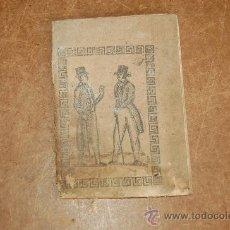Libros antiguos: RARISIMO LIBRO: SENCILLO ESTILO DE CARTAS O MODELOS PARA ESCRIBIRLAS. 1850, CON GRABADOS.. Lote 29902779