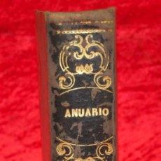 Libros antiguos: LIBRO ANUARIO DEL DEPOSITO HIDROGRAFICO, MADRID. AÑO X. 1872. . Lote 29953710