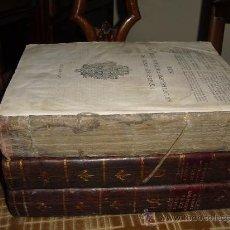 Libros antiguos: 1805 NOVISIMA RECOPILACION DE LAS LEYES DE ESPAÑA DIVIDIDA EN 12 LIBROS. Lote 29931248