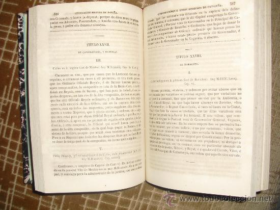 Libros antiguos: 1854 CONSTITUTIONS Y ALTRES DRETS DE CATALUNYA VALLECILLO - Foto 3 - 29935514