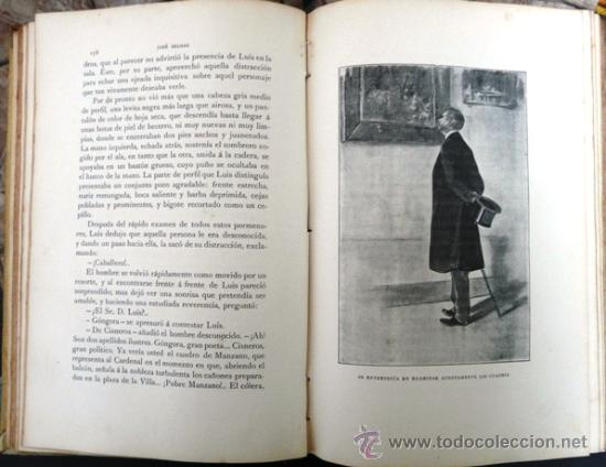 Libros antiguos: DEUDA DEL CORAZON, EL ANGEL DE LA GUARDA - JOSE SELGAS - AÑO 1909 - MONTANER Y SIMON EDITORES-TOMO I - Foto 3 - 29983021