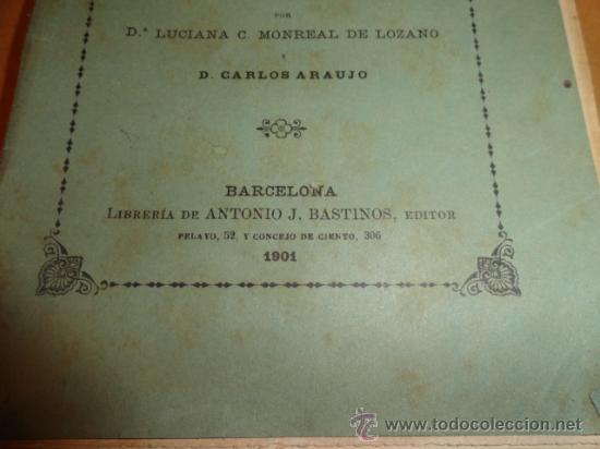 Libros antiguos: LIBRO DE ESCUELA DISCURSOS,DIALOGOS Y POESIAS PARA NIÑOS Y NIÑAS 1901 - Foto 2 - 30055113