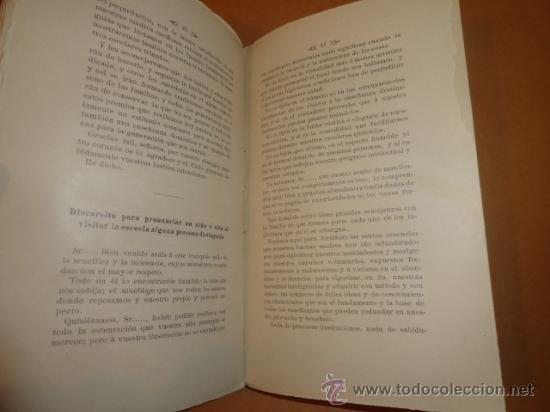 Libros antiguos: LIBRO DE ESCUELA DISCURSOS,DIALOGOS Y POESIAS PARA NIÑOS Y NIÑAS 1901 - Foto 5 - 30055113