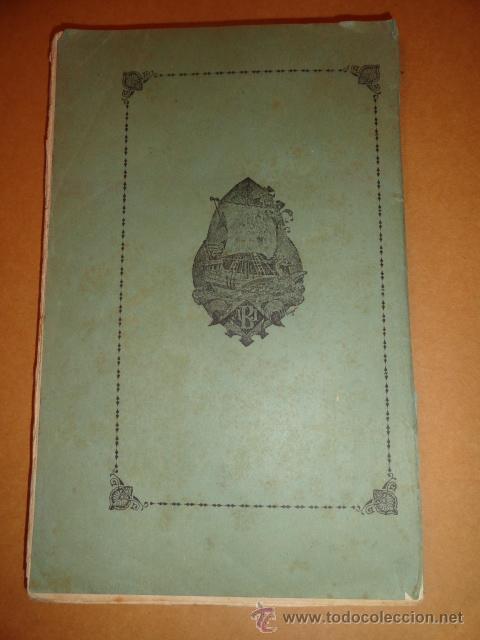 Libros antiguos: contraportada - Foto 10 - 30055113