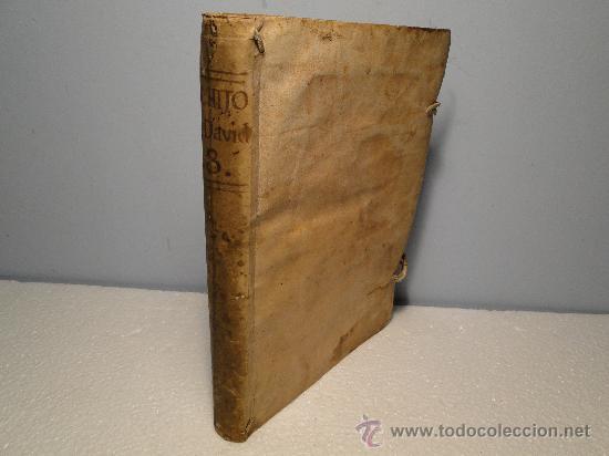 Libros antiguos: TERCERA PARTE DEL GRANDE HIJO DE DAVID, CHRISTO SEÑOR NUESTRO. Historia Evang AÑO 1733 - Foto 6 - 30113853