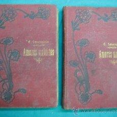 Libros antiguos: NOVELA ROMANTICA , AVENTURAS, SUSPENSE Y TEATRO. AMORES MALDITOS POR CAROLINA INVERNIZIO. Lote 30198913
