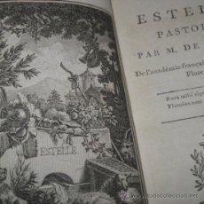 Libros antiguos: ESTELLE DE FLORIAN, 1799. CONTIENE SIETE GRABADOS.. Lote 30244022