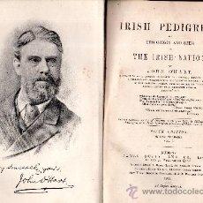 Libros antiguos: IRISH PEDIGREES, OR, THE ORIGIN AND STEM OF THE IRISH NATION, BY JOHN O´HART, VOLUMEN I, DUBLIN 1892. Lote 30267812